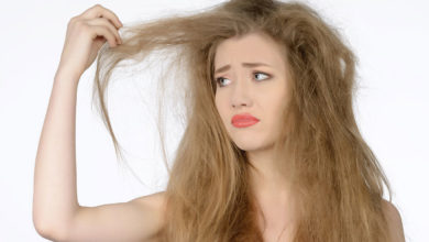 صورة الشعر الجاف وكيفية علاجة