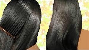 صورة طريقة لتنعيم الشعر